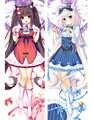 Japanese Anime Game Nekopara Chocola Vanilla Body Pillow Cover Case Decorative Waifu Pillowcases Throw Otaku Dakimakura case