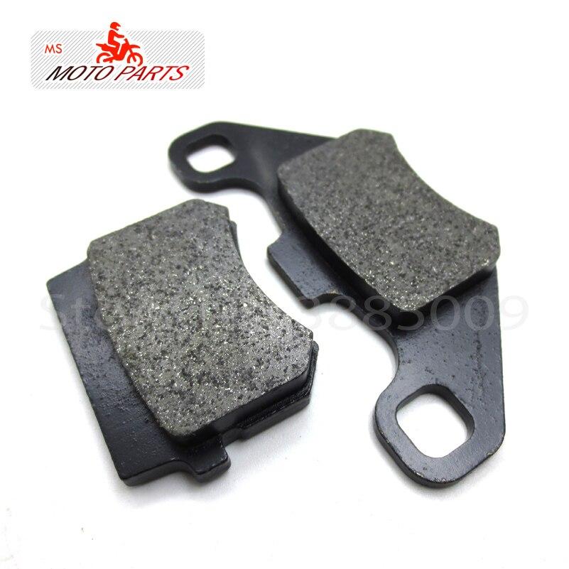 Scheibenbremsbeläge 2 Pc/pair Fit Zu Pit Pro Gpx Kayo Bse Irbis 110cc Auf 250cc Dirt Pit Bike Bremssystem Teil Ausgezeichnete (In) QualitäT