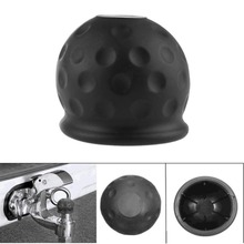 Towing Hitch Caravan Trailer Protect New Universal 50mm Tow Bar Ball Cover Cap цена