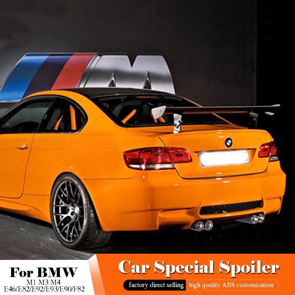 AITWATT pour BMW GTS becquet en Fiber de carbone M1 M3 M4 E46 E82 E92 E93 E90 F82 décoration d'aile de lèvre de coffre arrière extérieur