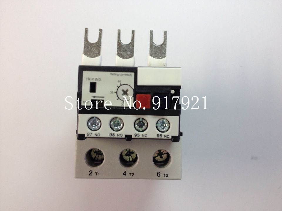 [ZOB] Hagrid WET imported EWT140C thermal overload relay 30-40A three-phase overload protection --2pcs/lot adjustable overcurrent protection three phase thermal overload relay 24 36a