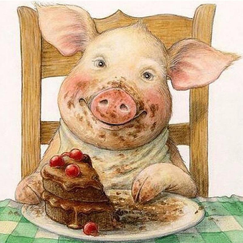 ржачные картинки год свиньи