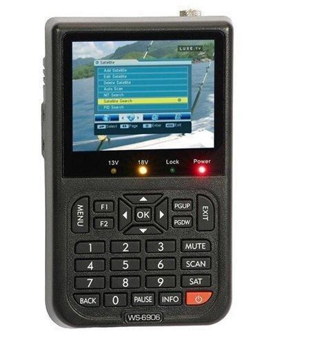 Wholsesale ! 100% original brand new Digital satellite finder ws6906, satlink ws6906 ,sat finder meter ,digital sat finder