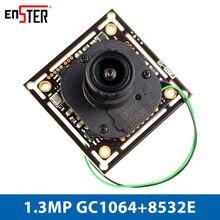 Enster nst mf3264 gc1064 + 8532e 13mp ahd camera modul bord
