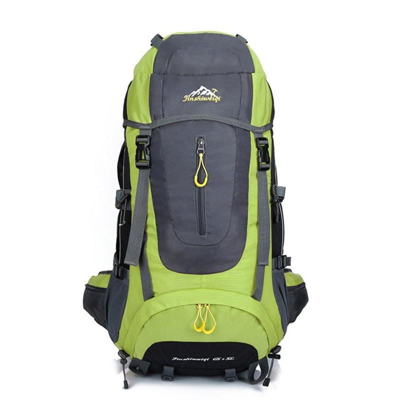 ФОТО Hot Sale 60L Large Capacity Multifunctional Backpack Waterproof Backpack Advanced Backpack Travel Luggage Bag Wholesale 5 Colors