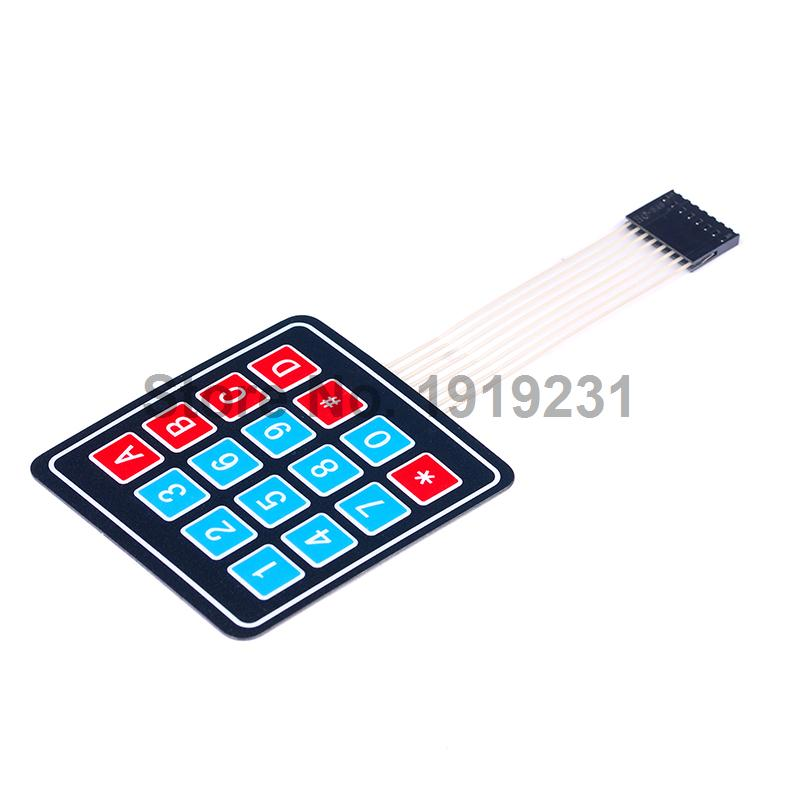 Switches Lights & Lighting Objective 200pcs Micro Switch 4*4*0.5 Smd Legs Thin Membrane Switch Touch Switch Button Switch 4.8*4.8