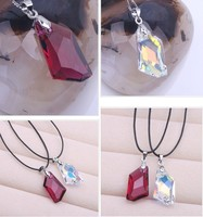 Fashion Jewelry Best Quality 100 925 Sterling Silver Crystals From SWAROVSKI Pendant Necklaces Women Ocean Heart