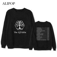 ALIPOP Kpop EXO PLANET 4 Album Hoodie Hip Hop Casual Loose Hoodies Clothes Pullover Printed Long