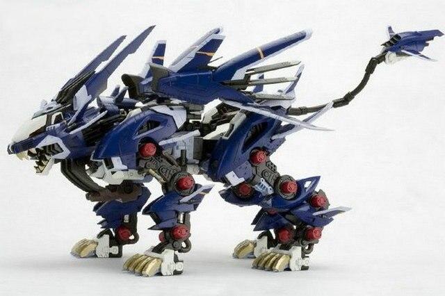Bt 172 Zoids Liger Zero Jager Gundam Assembled Model Anime Action