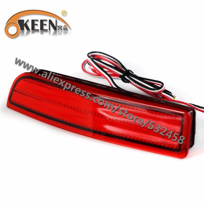 OKEEN Brand Automobiles LED Rear Lihgts Car Tail Rear Bumper Reflector Lights Brake Light Lamps For RAV4/PREVIA/alphard 2010