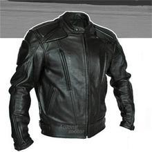 Классический-звезда Деннис Мужчины куртку ПУ профессиональная гоночная куртка мотоцикла доставки 5 компл. защитной одежды
