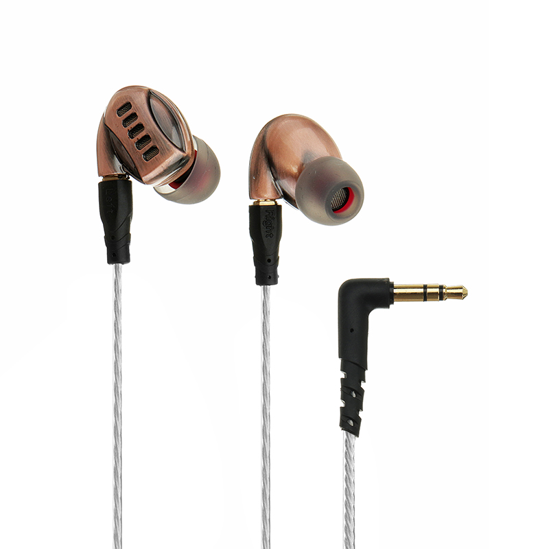 цена на BGVP DM5 2BA+2DD Dual Hybrid Dual Dynamic In-Ear Earphones with Mic/ No Mic Cables High-end Sports HIFI Hybrid Earphones
