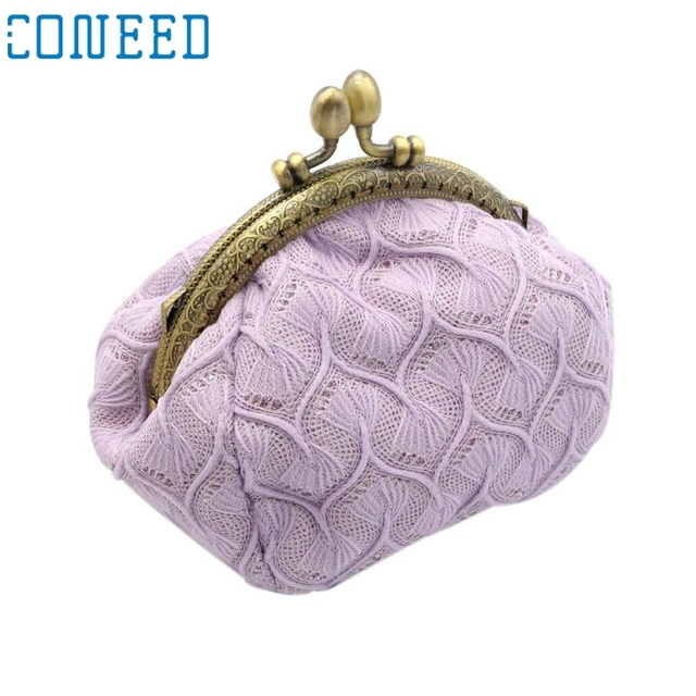 62557abd0644 Charming Nice CONEED Women Lady Retro Vintage Small Wallet Hasp Purse  Clutch Bag Best Gift Wholesale Y25