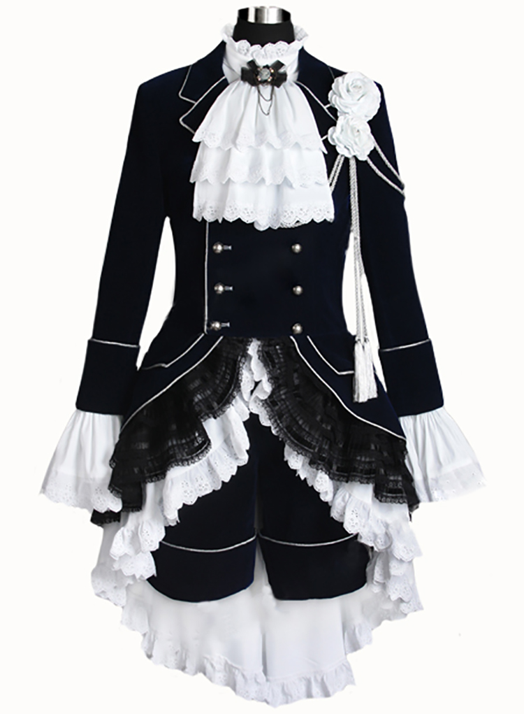 Black Butler Cosplay Ciel Phantomhive Noir Cosplay Costume