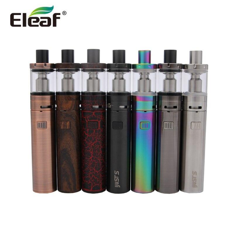 100% Original Eleaf iJust S Kit 3000 mah iJust S Batterie mit 4 ml iJust S Zerstäuber ECL 0.18ohm Kopf iJust Kit