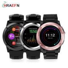 Smart Watch H1 Waterproof Android smartwatch heart rate monitor wearable device HD Camera Support 3G Wifi GPS ROM 4GB RAM 512MB