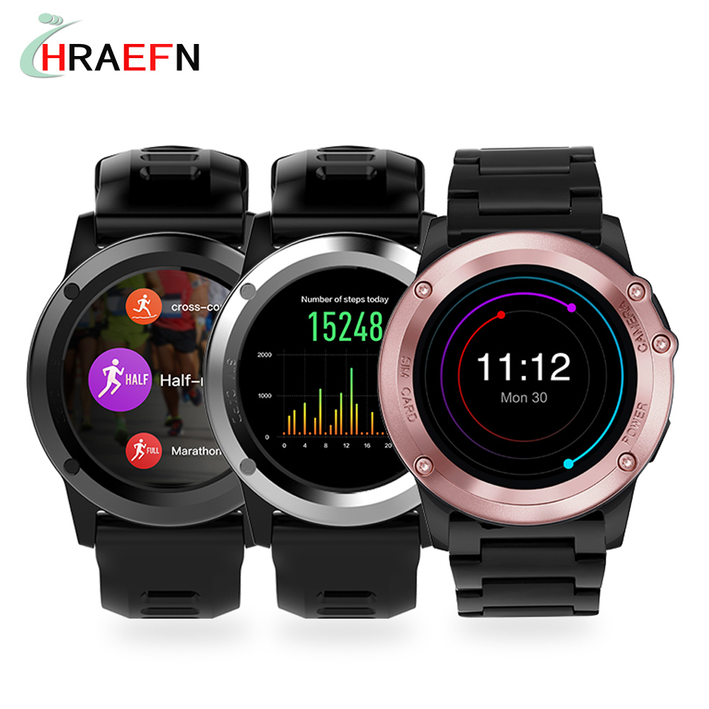 Smart Watch H1 Waterproof Android smartwatch heart rate monitor wearable device HD Camera Support 3G Wifi GPS ROM 4GB RAM 512MB  2 pcs smart watch x200 android wristwatch heart rate monitor smartwatch with camera support 3g wifi gps 8gb 512mb for business