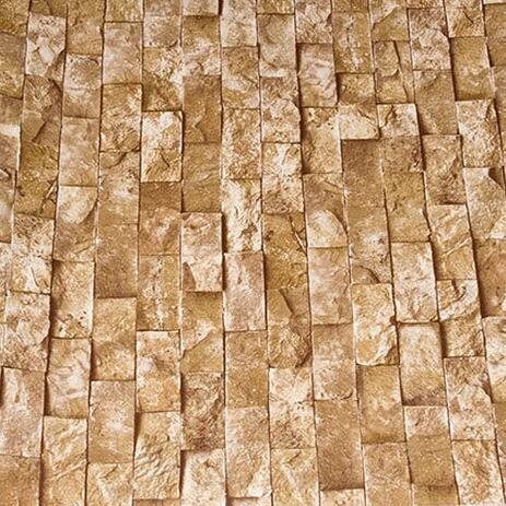 3D Wallpaper Pvc Brick Walls Design Stone Rock Pattern Wall Paper