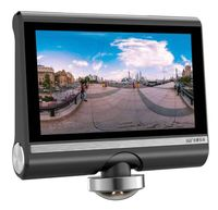 2017 New 4 5 Inch Touch Screen 360 Degree Panorama Car DVR Camera Full HD 1080P