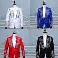 Terno masculino 2016 Homens jaqueta + calça frete grátis traje vestido terno rebite linha de coro de padrinho de casamento ternos para homens homens terno