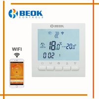 Programmable Room Heating Boiler WIFI Thermostat Digital Temperature Controls Regulator Wifi Control Thermostat For Gas Boilers