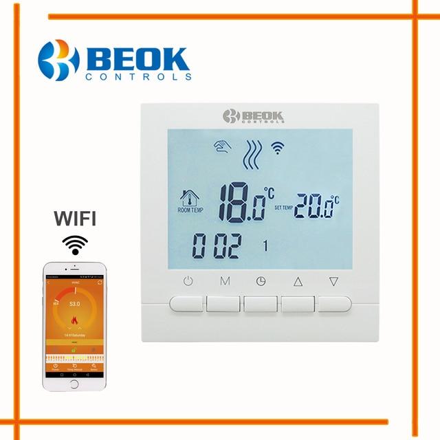 Programmierbare Raumheizung Kessel WIFI Thermostat Digitale ...