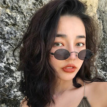 Fashion Women Sunglasses Luxury Brand Designers Vintage Small Oval Retro Sun Glasses For eyewear