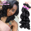 Queen Weave Beauty Brazilian Loose Wave 4 Bundle Loose Wave Human Hair 7a Mink Brazilian Hair Weave Bundles Tissage Bresilienne