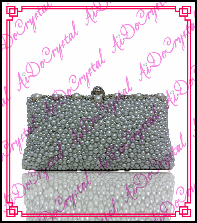 Aidocrystal grey crystal stones paved clutch bag and slip on high heeled shoes for party