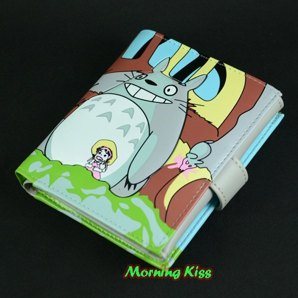 New Lovely My Neighbor Totoro short Wallet Purse Coin Bag Card Holder gray W2728CT07-A81