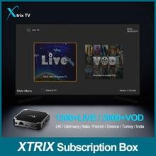 Apkintvbox Best Australia Xtrix TV IPTV Subscription with Arabic Greece UK Italy