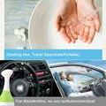 Spray de ar esterilizante desinfectante para uso doméstico gerador de ozônio O3 ozônio alimentos esterilizador desinfetante sabão líquido desinfetante wc