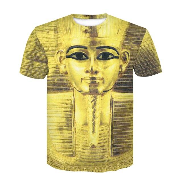 cbbf6abffe9137 t shirt 3d men vintage streetwear tshirt funny t shirts print pyramid poker  flower t shirt cool short tees Fashion summer tops-in T-Shirts from Men's  ...
