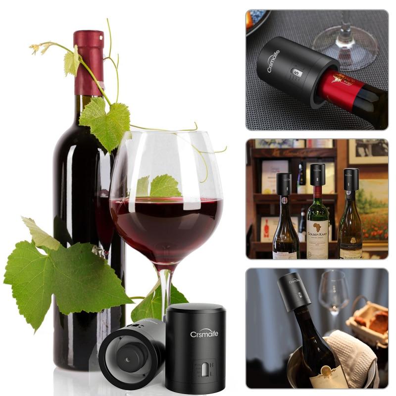 Rolha de Vinho à Vácuo Inteligente