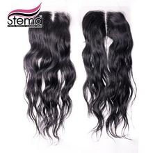 4X4 Size Lace closure Natural Wave Indian Natural wave closure Virgin Hair Top Closure Free Parting And U Parting Swiss Lace