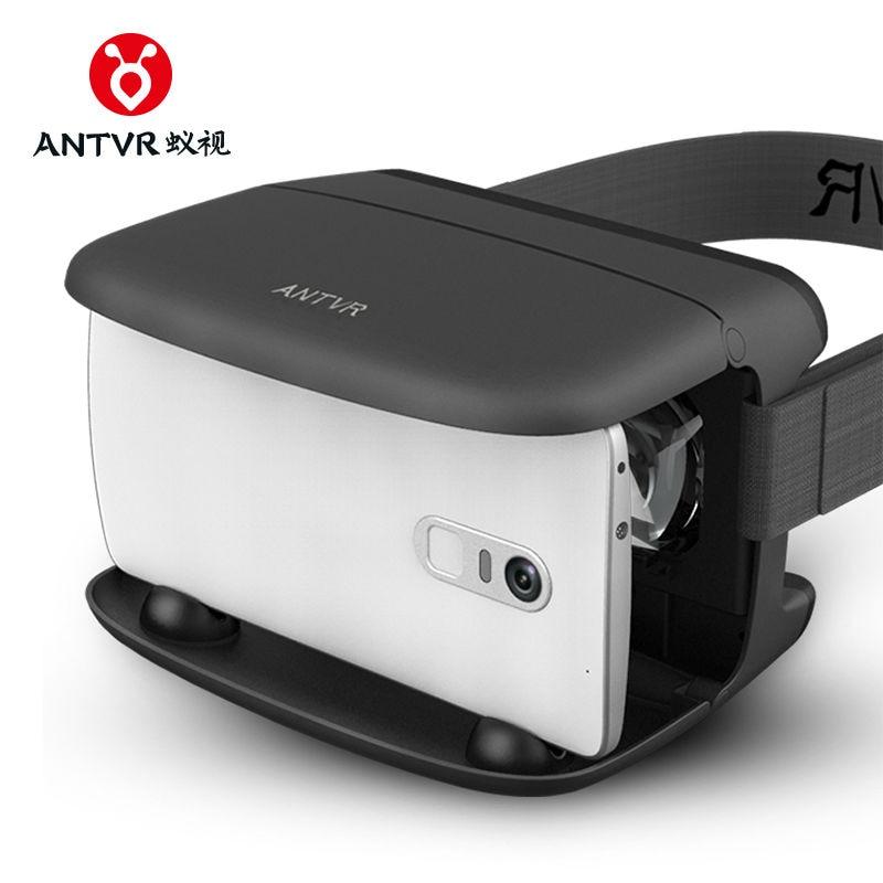 2017 ANTVR Original VR Shinecon 3D Realidad Virtual Gafas de Cartón - Audio y video portátil - foto 4