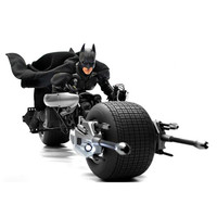 338PCS Brick Batpod Building Blocks Toys Decool Super Heroes The Dark Knight Batman Batcycle Batmobile Batblade