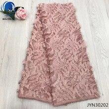 BEAUTIFICAL African Fabric Dress Lace Sewing Chiffon Fabric for Women Dress 5 yards Chiffon JYN302