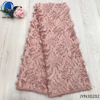 BEAUTIFICAL African Fabric Dress Lace Sewing Chiffon Fabric for Women Dress 5 yards Chiffon JYN302