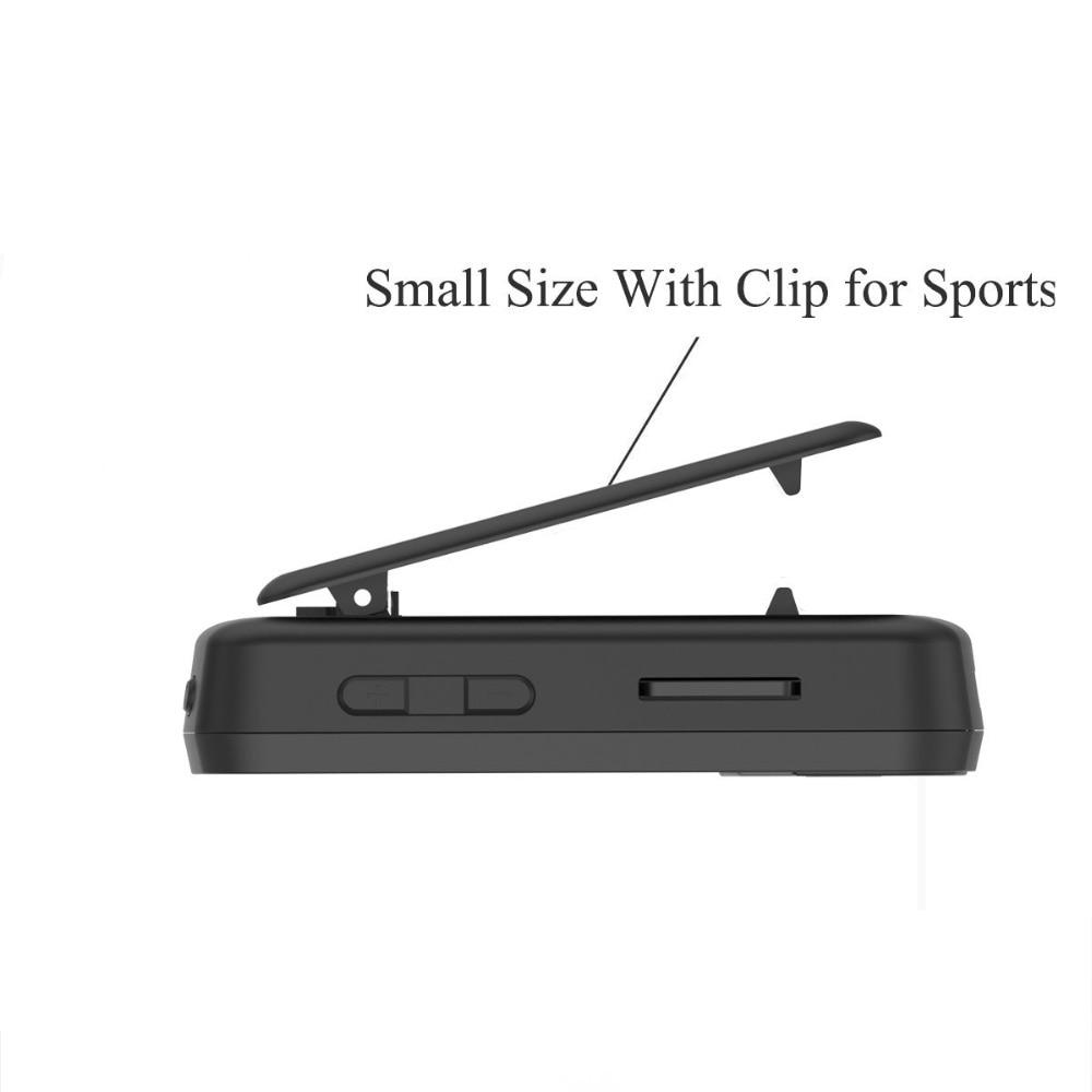 Izvorni CHENFEC C50 Mini Sport Clip Bluetooth mp3 player glazbeni - Prijenosni audio i video - Foto 4