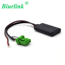 Biurlink 6Pin Car CD Changer Wireless Bluetooth 4.0 Interface Music Aux IN Module Cable Adapter for Honda Acura RDX TSX MDX CSX