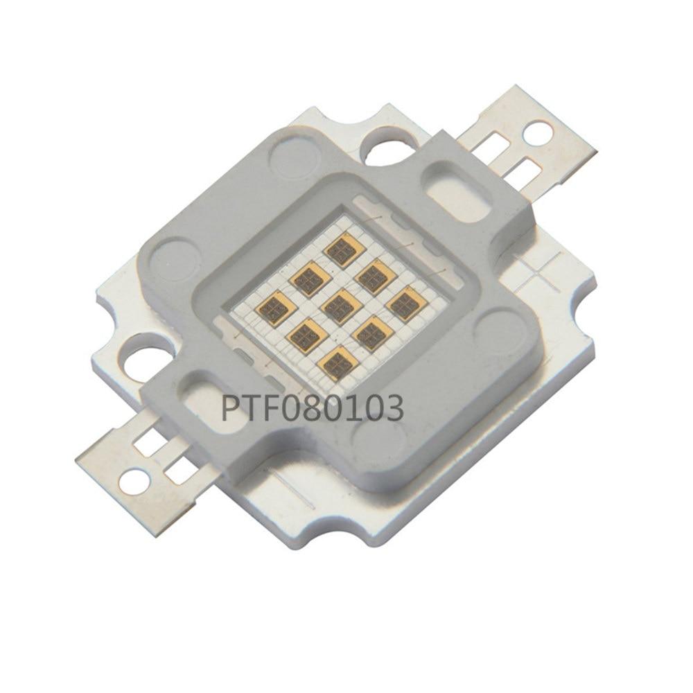 10W LED Chip IR 730Nm 850Nm 940Nm COB Infrared Radiation Bulbs Detect Sensor Laser FlashlightHigh Power