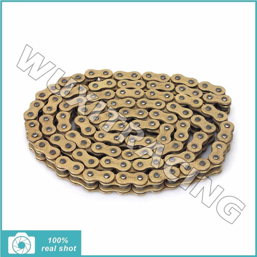 520 х 120 из нержавеющей одной грязи велосипедная цепь x-кольца приводные цепи для YAMAHA YZ125 WR250 YZ250 УГ 250 400 426 450 Ф Ф 98-16 99 00 01
