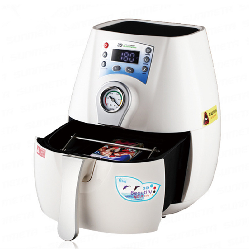 Presse à chaud Machine 3D MINI Sublimation presse à chaud imprimante pour tasses coque de téléphone photo ou image professionnelle vide 110 v/220 v