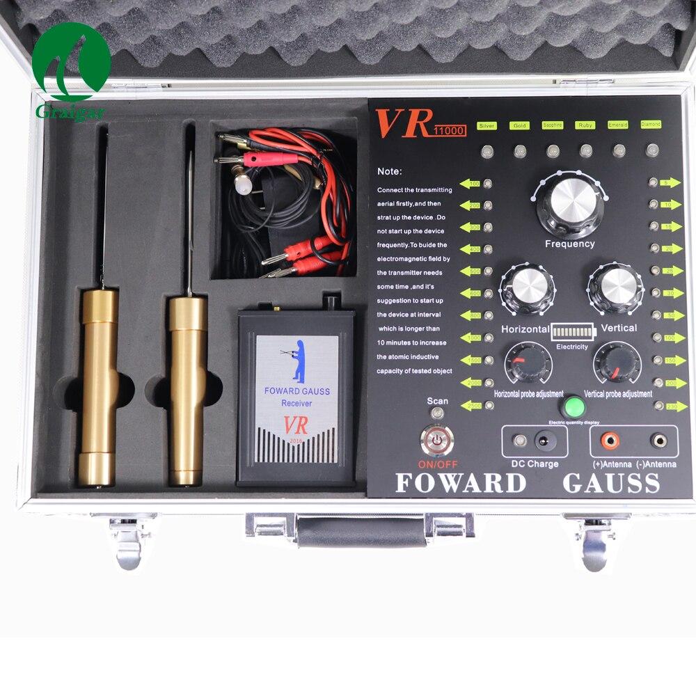 Largement utiliser VR-11000 détecteur de métaux à ultrasons à longue portée en or et gemme gamme de détection: 100-2500 m - 6