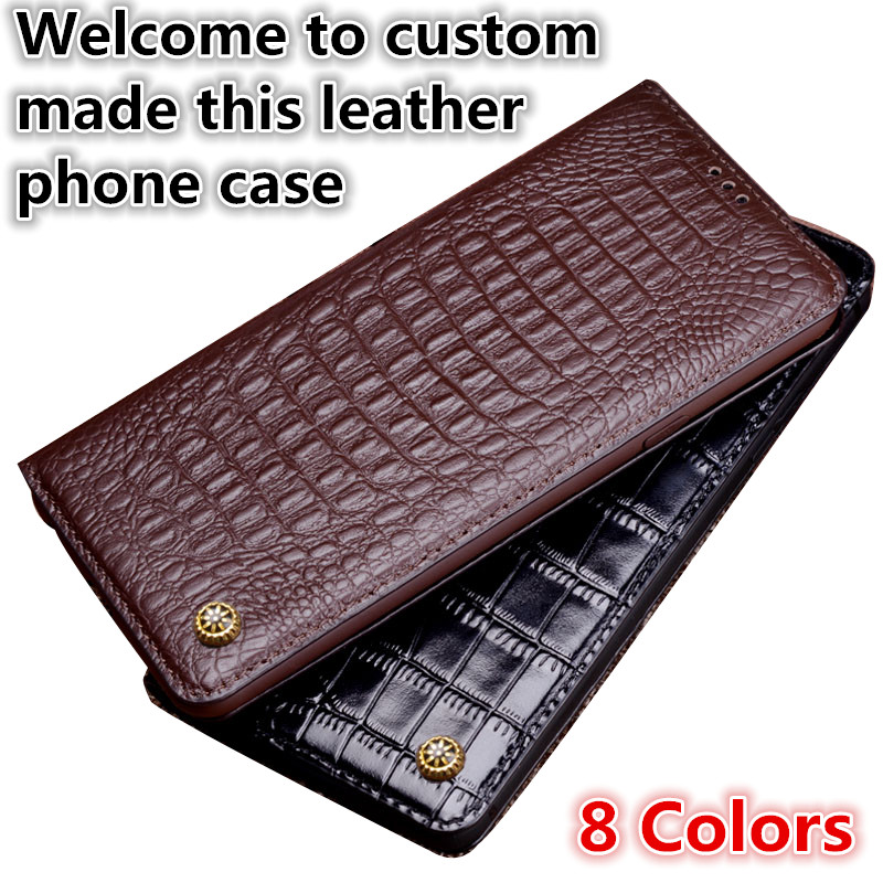 NC16 genuine leather phone case for Asus ZenFone 3 ZE520KL case for Asus ZenFone 3 ZE520KL flip case with kickstand