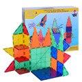 42 unids Azulejos Magnética Bloques de Construcción Para Niños Juguetes Para Bebés Juegos de Construcción de Apilamiento Juegos para Niños