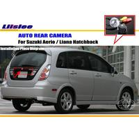 Liislee For Suzuki Aerio / Liana Hatchback Reverse Back Up Camera / Parking Camera / NTST PAL / License Plate Lamp OEM