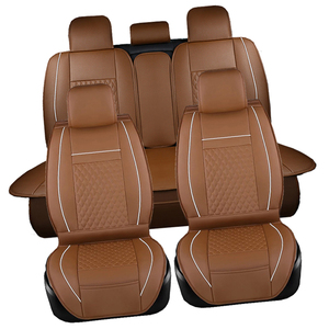 Image 4 - Leather Car seat covers set For Chevrolet CRUZE SAIL LOVE AVEO EPICA CAPTIVA Cobalt Malibu AVEO LACETTI Car Accessories styling