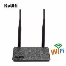 Беспроводной маршрутизатор KuWfi 802.11n, 300 Мбит/с, с антенной 2/5 дБи